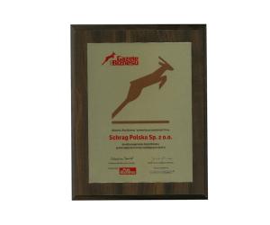 Gazela biznesu 2007 Schrag Polska.