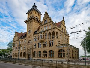 Widok miasta Helibronn. Schrag producent kształtowników zimnogiętych, profili Z, profili C, konstrukcji fotowoltaicznych, profili kontenerowych, elewacji, obróbek blacharskich.