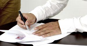 OPodpisywanie dokumentów.
