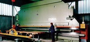 Zielona prasa krawędziowa do produkcji kształtowników zimnogiętych, profili Z, profili C, konstrukcji fotowoltaicznych, profili kontenerowych, elewacji, obróbek blacharskich.