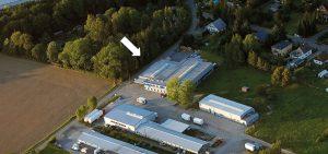 Siedziba Schrag Drezno producent kształtowników zimnogiętych, profili Z, profili C, konstrukcji fotowoltaicznych, profili kontenerowych, elewacji, obróbek blacharskich.