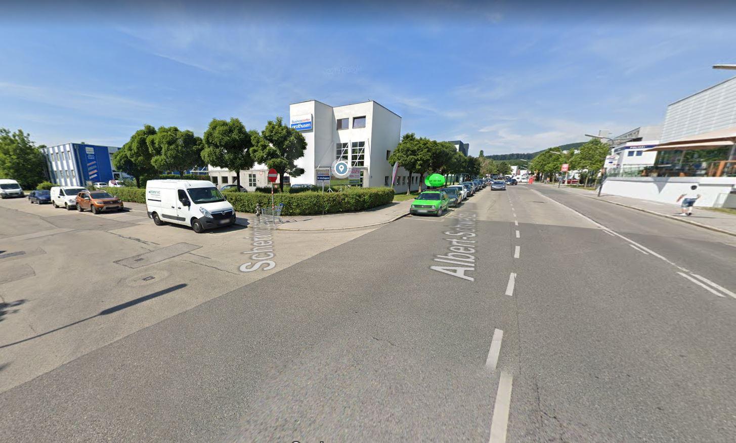 Oddział Schrag w Austrii. Widok Miasta.