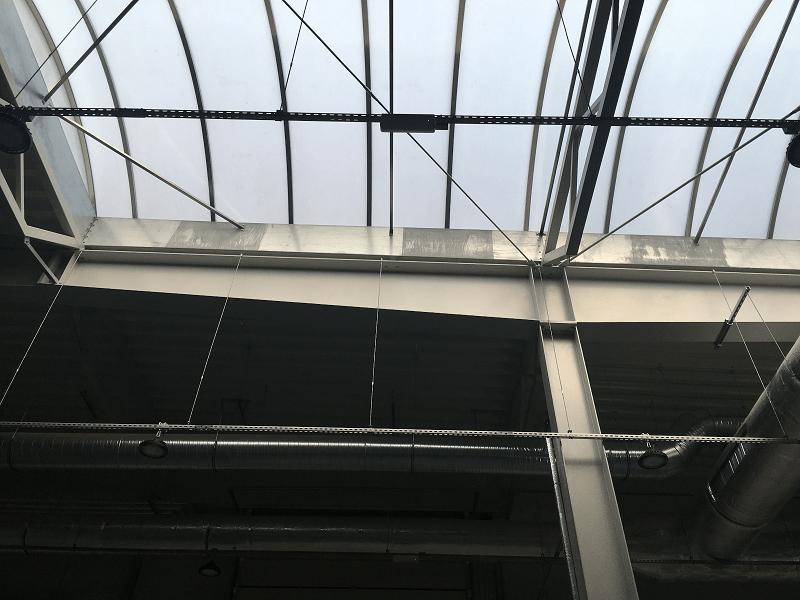 Pasma świetlne dachowe. Biała korozja.
